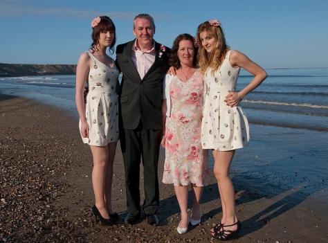 A lovely Spring day on Filey Beach with the family