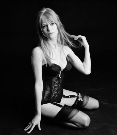 The sexy Marianne Faithfull