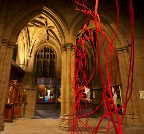 Lumen at Wakefield Cathedral by Sean & Charlotte Mannion