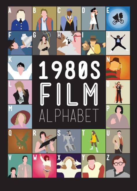 1980 Film Alphabet Movie Posters by Stephen Wildish