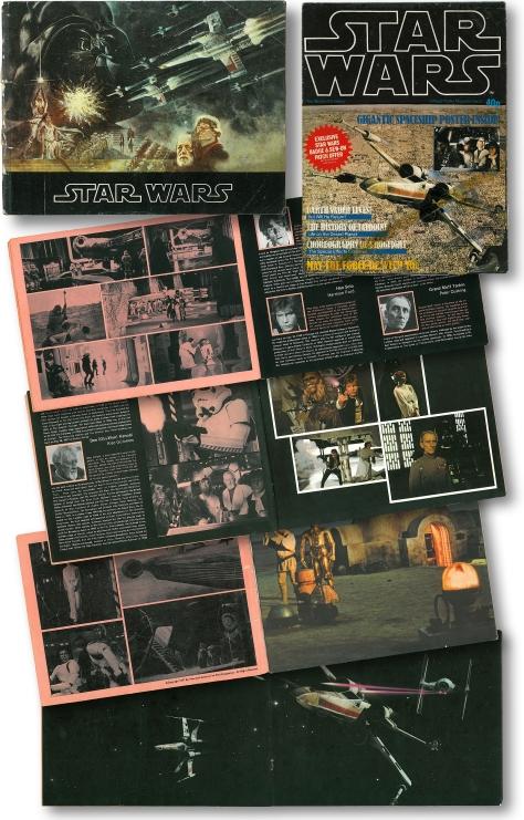 Star Wars Souvenir Programme and Film Poster 1978