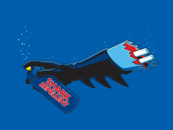 Defective Batman Shark Repellent
