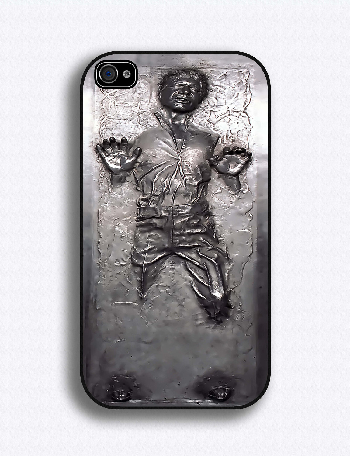 half off dcac2 f8279 Han Solo in Carbonite iPhone Case | Milners Blog