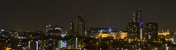 The Twinkling Lights of Leeds