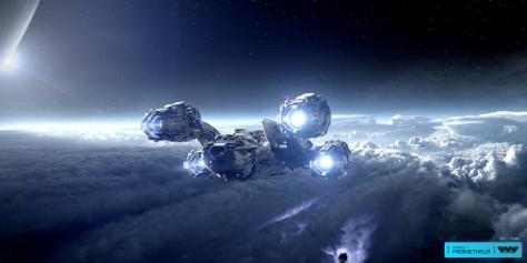 The Prometheus Space Ship