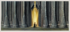 Ralph McQuarrie The Art of Star Wars The Return of the Jedi Emperors Palace