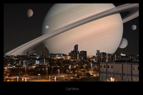 Saturn over Leeds