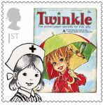 Royal Mail Comic Stamps Issue 2012 Twinkle