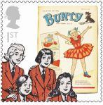 Royal Mail Comic Stamps Issue 2012 Bunty