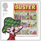 Royal Mail Comic Stamps Issue 2012 Buster