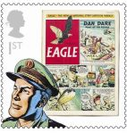 Royal Mail Comic Stamps Issue 2012 Eagle