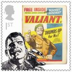 Royal Mail Comic Stamps Issue 2012 Valiant