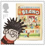 Royal Mail Comic Stamps Issue 2012 Beano