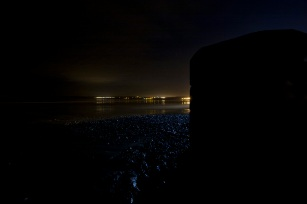 1 Filey at Night : End of the Cobbles