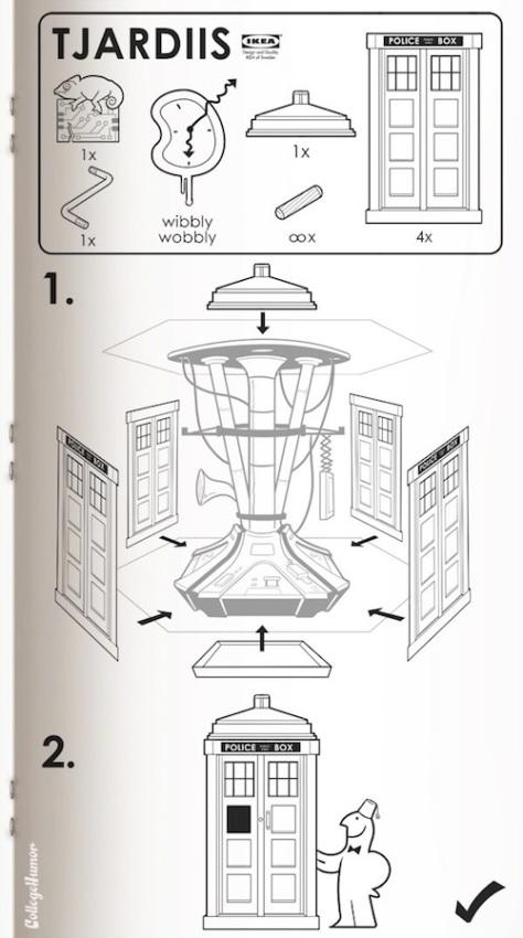 Ikea Dr Who Tardis Manual