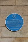 Leeds Blue Plaques Wednesday 28th March 2012