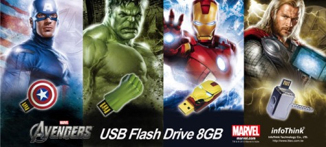 The Avenger USB Drive Marketing