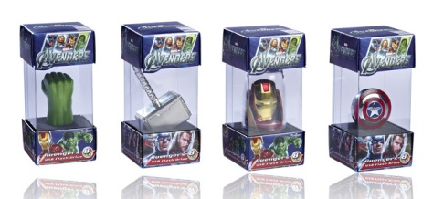 The Avenger USB Drive Packaging