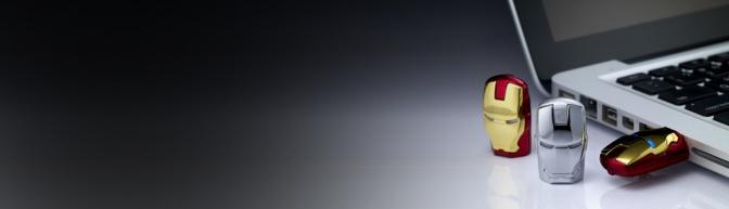 Milnersblog marvel Avengers IronMan USB Header