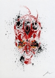 Star Wars Paint Splattered Darth Maul