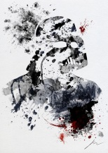 Star Wars Paint Splattered Darth Vader