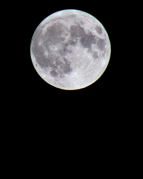 The Perigee Moon over Leeds May 6th 2012