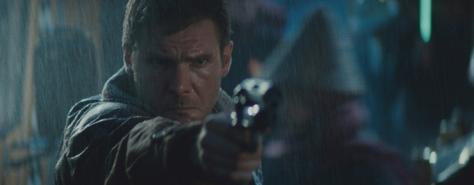 Blade Runner Deckard Future Noir