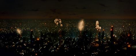 Blade Runner Explosion Future Noir