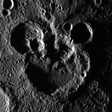 Mickey Mouse Spotted on Mercury