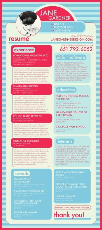 Creative CV _ Resume Examples 03