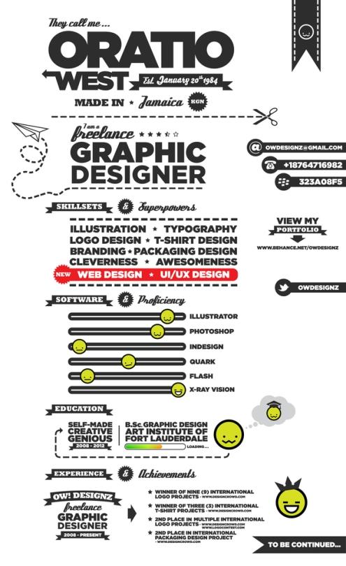 Creative CV _ Resume Examples 06