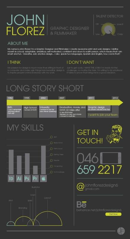 Creative CV _ Resume Examples 10