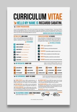 Creative CV _ Resume Examples 12a