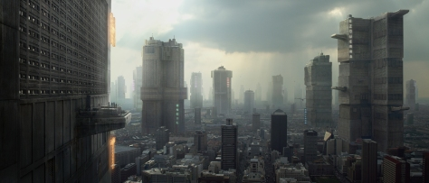 Mega City One from Dredd 2012