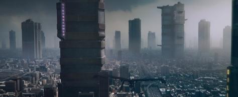 Mega-City One from Dredd