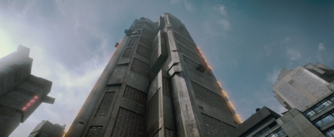 Mega City One Skyscraper from Dredd 2012