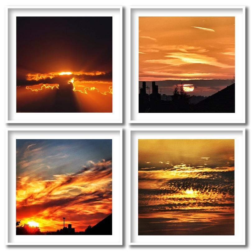 My Instagram Top 4 Orange Skies