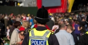 Olympic Torch Leeds Celebration Concert Police