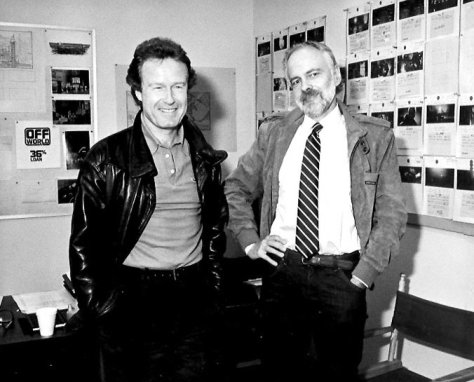 Philip K Dick with Ridley Scott