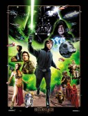 Star Wars Celebration VI Poster - Return of the Jedi by Joe Corroney