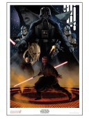Star Wars Celebration VI Poster - The Bad Guys by Doug Wheatley