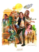 Star Wars Celebration VI Poster - The Saga of Solo by Mark McHaley