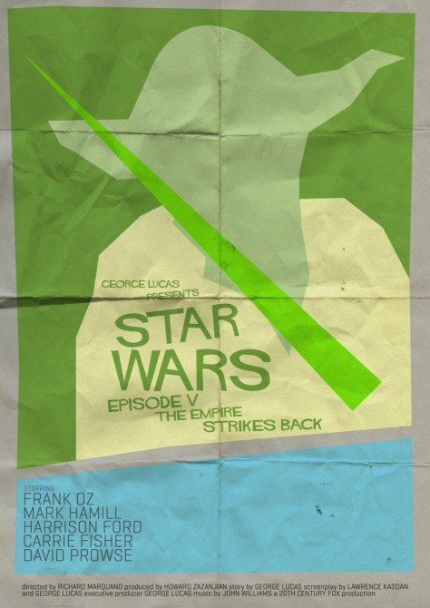Star Wars Saul Bass Style The Empire Strikes Back 2MilnersBlog