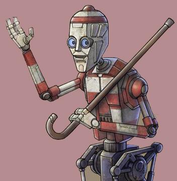Waldo the Robot Star Wars Celebration VI Poster