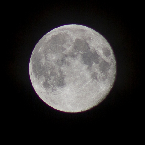The August Full Moon 2012