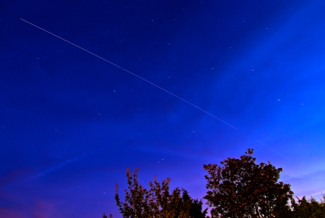International Space Station over Leeds August 2012 1st Pass