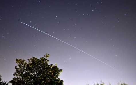 International Space Station over Leeds August 2012 2nd Pass