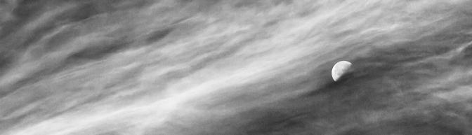 Luna in a Sea of Clouds