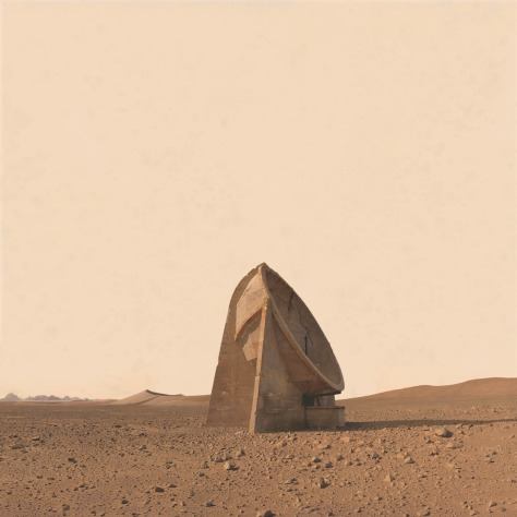 Mars Art Adrift on the Hourglass Sea 4