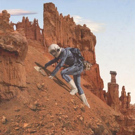 Mars Art Adrift on the Hourglass Sea